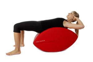 Fittness-Schnecke Training für oberen geraden Bauchmuskeln Ausgangsposition