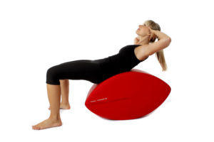 Fittness-Schnecke Training für oberen geraden Bauchmuskeln Ausführung