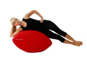 Fittness-Schnecke trainier und straft schräge Bauchmuskeln Ausgangsposition