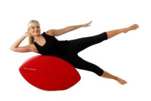 Fittness-Schnecke trainier Beine und schräge Bauchmuskeln Ausführung