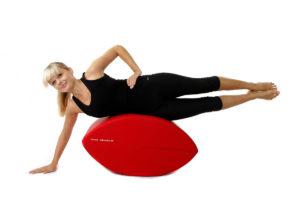 Fittness-Schnecke Training für obere geraden Bauchmuskeln