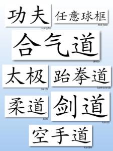 Kampfsport und Kalligraphie - zwei Wege, sich selbst kennen zu lernen